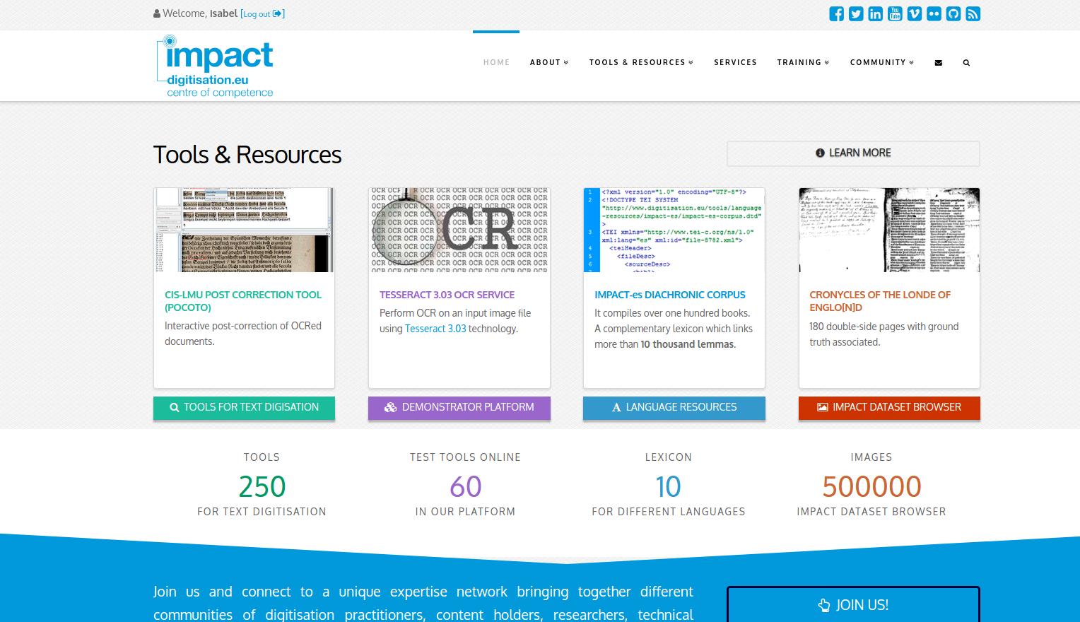 Impact new web site